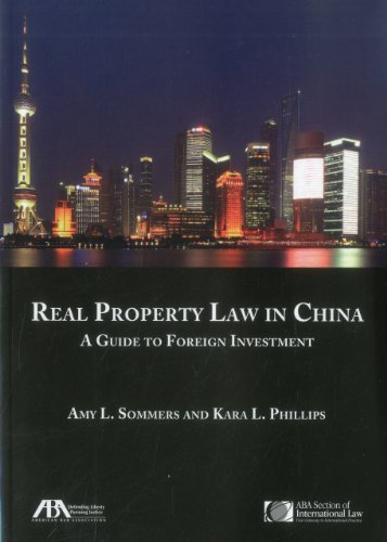 9781614380016: Real Property Law in China: A Guide to Foreign Investment