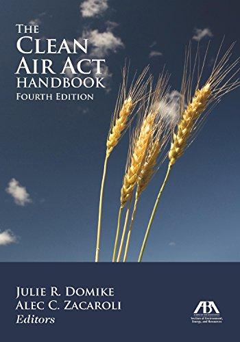 9781614380351: The Clean Air Act Handbook