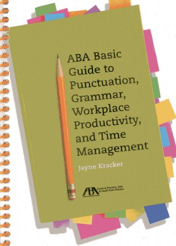 9781614385639: ABA Basic Guide to Punctuation, Grammar, Workplace Productivity, and Time Management