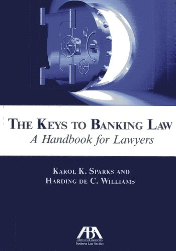 9781614386988: The Keys to Banking Law: A Handbook for Lawyers