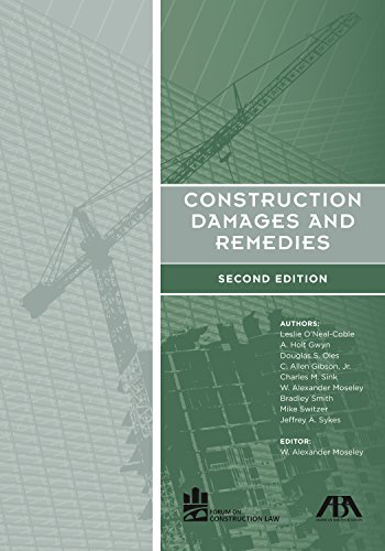 9781614388920: Construction Damages and Remedies