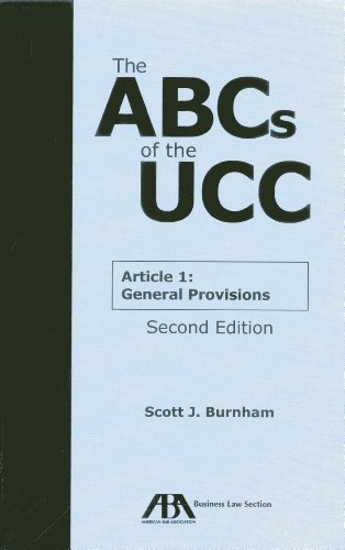 9781614389484: The ABCs of the UCC Article 1: General Provisions