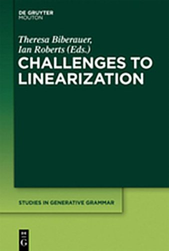 9781614512448: Challenges to Linearization (Studies in Generative Grammar [Sgg])