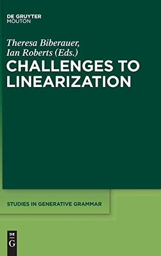9781614513100: Challenges to Linearization (Studies in Generative Grammar [Sgg])