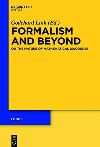 9781614518488: Formalism and Beyond: On the Nature of Mathematical Discourse (Logos)