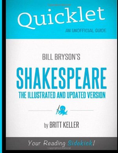 9781614640707: Quicklet - Bill Bryson's Shakespeare