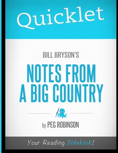 9781614640783: Quicklet - Bill Bryson's Notes from a Big Country