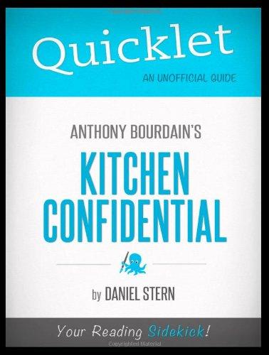 9781614640875: Quicklet - Kitchen Confidential