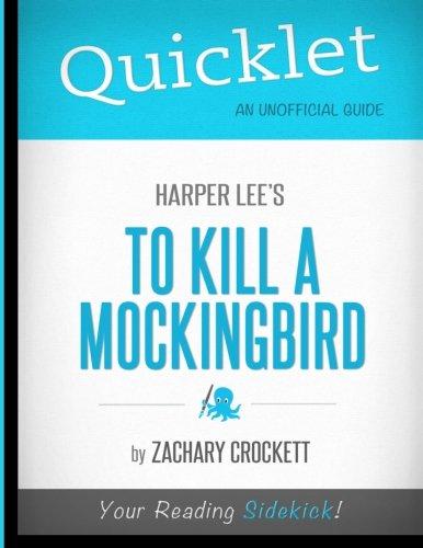 9781614641346: Quicklet - To Kill A Mockingbird