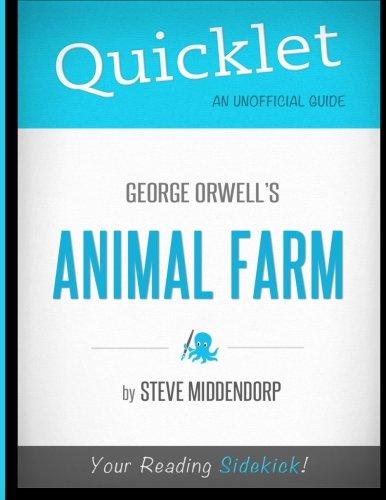 9781614641452: Quicklet - Animal Farm