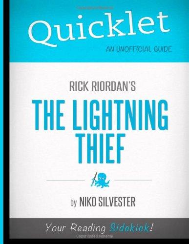 9781614641803: Quicklet - Rick Riordan's The Lightning Thief