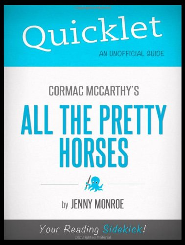 9781614642091: Quicklet - Cormac McCarthy's All The Pretty Horses