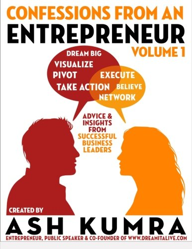 9781614645993: Confessions from an Entrepreneur (Volume 1)
