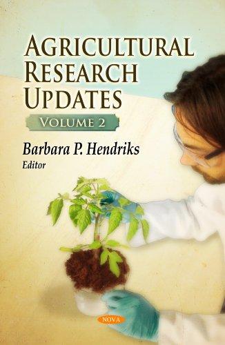 Agricultural Research Updates: v. 2 (Hardback)