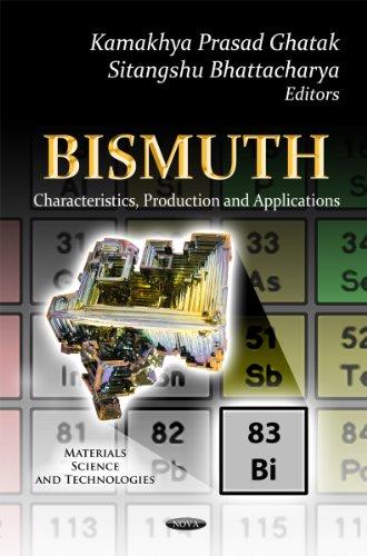 Bismuth (Materials Science and Technologies): Kamakhya Prasad Ghatak