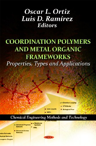 9781614708995: Coordination Polymers and Metal Organic Frameworks:: Properties, Types and Applications (Chemical Engineering Methods and Technology)