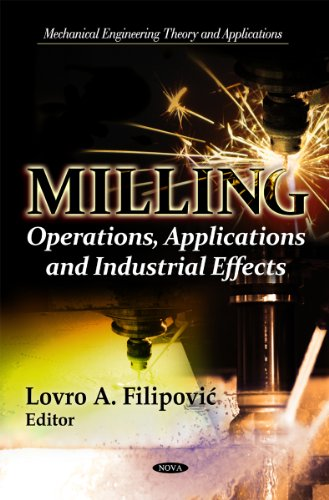 9781614709039: Milling: Operations, Applications and Industrial Effects (Mechanical Engineering Theory and Applications)