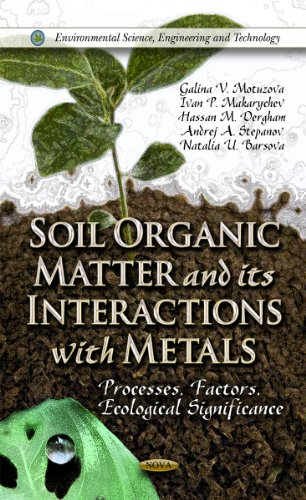 Soil Organic Matter and Their Interactions With Metals: Processes, Factors, Ecological Significance...