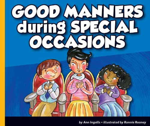 9781614732297: Good Manners During Special Occasions (Good Manners (Child's World))