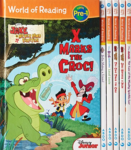 World of Reading Pre-1 (Library Binding)