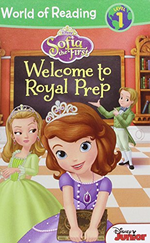 9781614792529: Sofia the First: Welcome to Royal Prep (World of Reading Disney - Level 1)