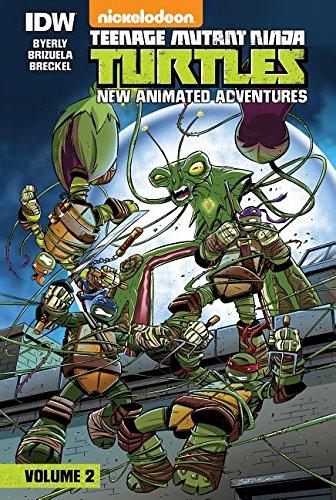 9781614794608: Teenage Mutant Ninja Turtles: New Animated Adventures: Volume 2
