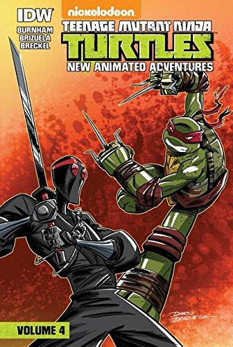 9781614794622: Teenage Mutant Ninja Turtles: New Animated Adventures: Volume 4