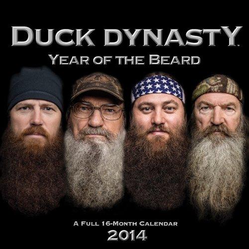 2014 Duck Dynasty Year of the Beard Wall Calendar: DaySpring