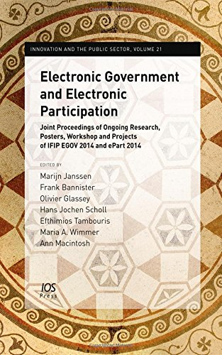 Electronic Government and Electronic Participation; proceedings (Innovation: International Federation for