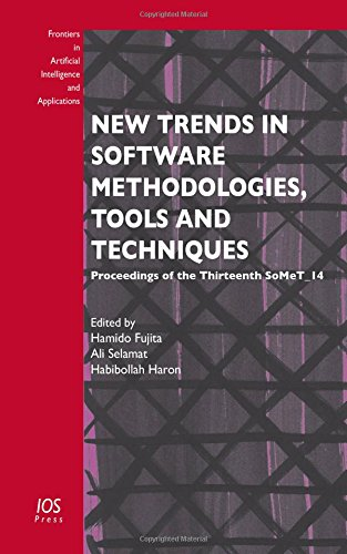 New Trends in Software Methodologies, Tools and Techniques: H. Fujita
