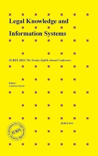 9781614996088: Legal Knowledge and Information Systems: JURIX 2015: The Twenty-Eighth Annual Conference (Frontiers in AI and Applications)