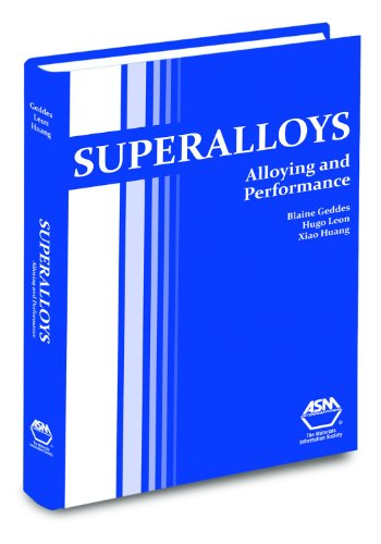 9781615030408: Superalloys: Alloying and Performance