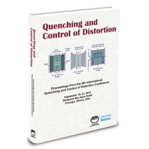 Quenching Control and Distortion: Proceedings of the 6th International Quenching and Control of ...