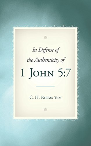 9781615077663: In Defense of the Authenticity Of 1 John 5:7