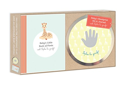 9781615193646: Baby's Handprint Kit and Journal with Sophie la girafe®