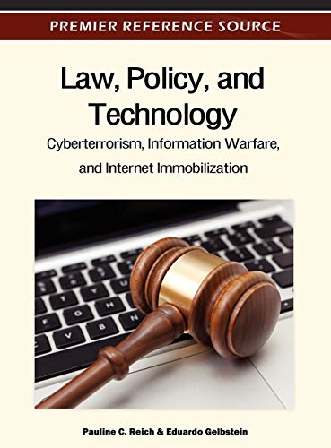 Law, Policy and Technology: Pauline C. Reich