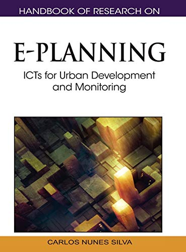 9781615209293: Handbook of Research on E-Planning: ICTs for Urban Development and Monitoring