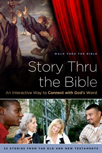 9781615218202: Story Thru the Bible: An Interactive Way to Connect with God's Word (Navpress Devotional Readers)