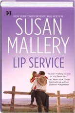 9781615231690: Lip Service (Hardcover BCE) (Lone Star Sisters, 2)