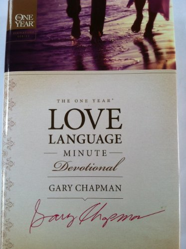 9781615233427: The One Year Love Language Minute Devotional