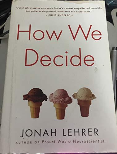 9781615235247: How We Decide