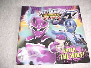 Power Rangers Jungle Fury Enter the Wolf: Power rangers