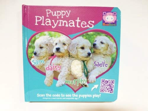 Puppy Playmates Touch & Feel W/Qr Code: Piggy Toes Press