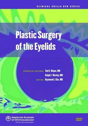 9781615252787: Plastic Surgery of the Eyelids (DVD)