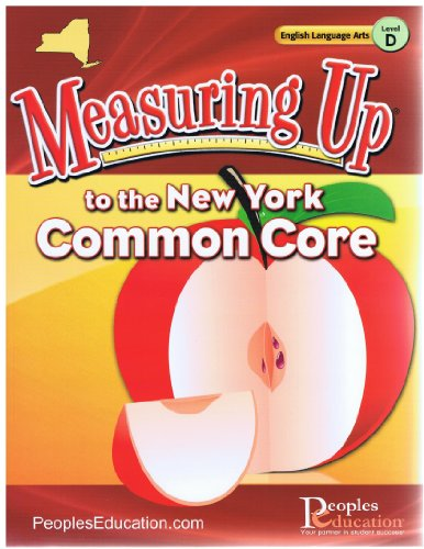 9781615266449: Measuring Up to the New York Common core Grade 4 ELA (measuring up)