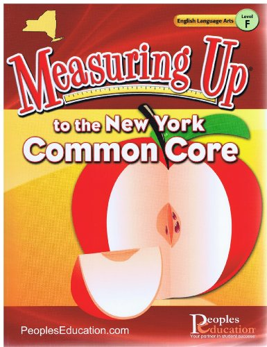 9781615266487: Measuring Up to the New York Common Core Grade 6 ELA (Measuring up)