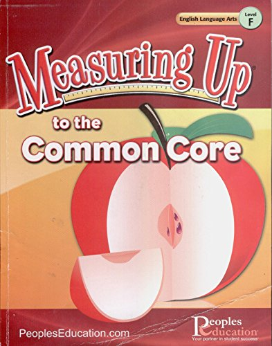 9781615269266: Measuring up to the Common Core, Level F
