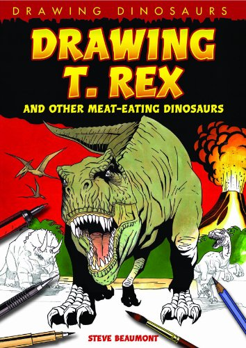 9781615319077: Drawing T. Rex and Other Meat-Eating Dinosaurs (Drawing Dinosaurs)