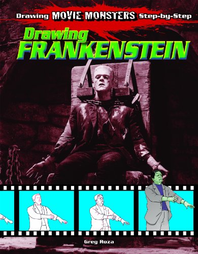 9781615330140: Drawing Frankenstein (Drawing Movie Monsters Step-by-Step)