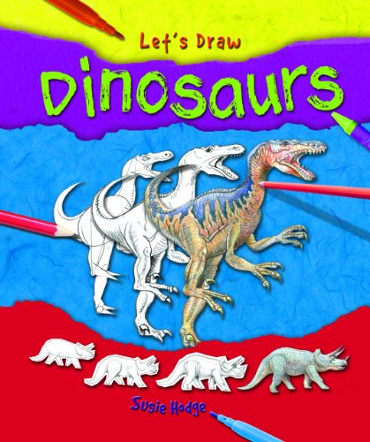 9781615332649: Dinosaurs (Let's Draw)